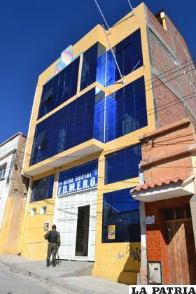 Sede de los maestros rurales de Oruro