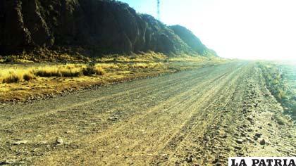 La vía Chuquichambi - Huayllamarca con un retraso del 10 %
