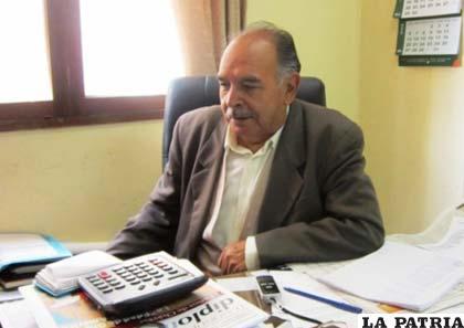 Mamerto Goyochea, ejecutivo de los jubilados de Bolivia
