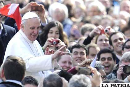 El Papa Francisco pide abrirse a la acción del Espíritu Santo