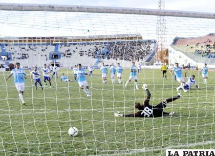 Didí Torrico anotó el segundo para San José