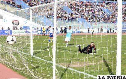Saucedo anotó tres goles, pero no le alcanzó para ser el goleador de este torneo