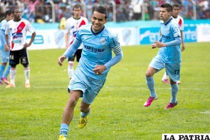 Ferreira terminó goleador de la Liga con 17 tantos al igual que Eduardo Fierro