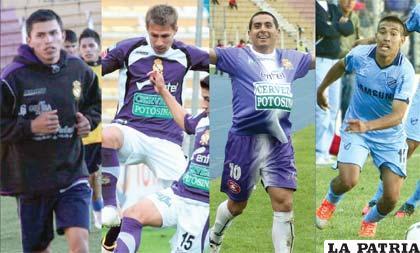 Los cuatros futbolistas que podrían jugar este campeonato en San José