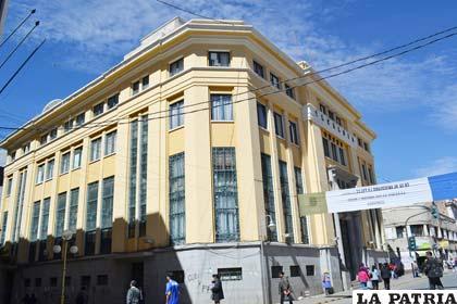 Casa Consistorial donde se desarrollan sesiones del ente legislativo municipal