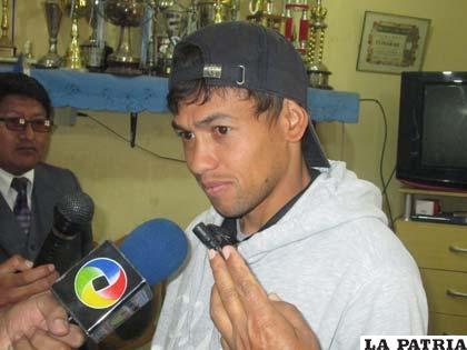 Marcelo Gomes ayer firmó su continuidad en San José