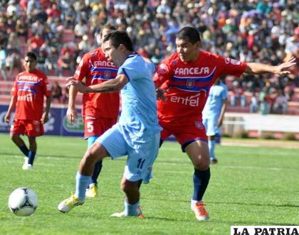 Gerardo Yecerotte hizo sólo algunos goles con la casaca de Bolívar