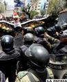 Policías reclaman cumplimiento de acuerdos firmados con el Gobierno