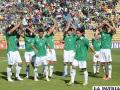 La Selección boliviana recibirá el 7 de junio a Venezuela
