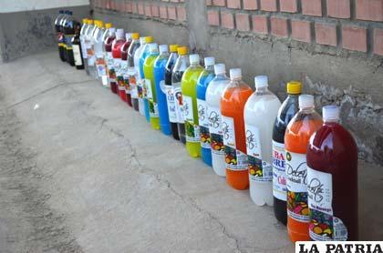 Gran cantidad de bebidas alcohólicas fueron decomisadas