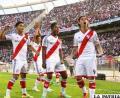 Festejo de los jugadores de River Plate