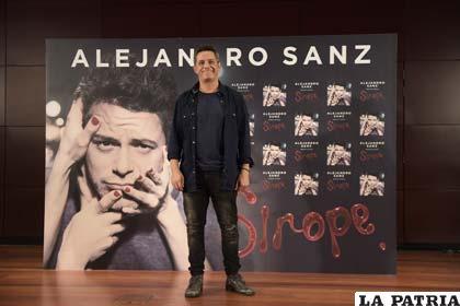 Presentación de Sirope, el último trabajo de Alejandro Sanz
