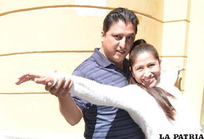 Jenny Serrano llegó con su alegría a Oruro