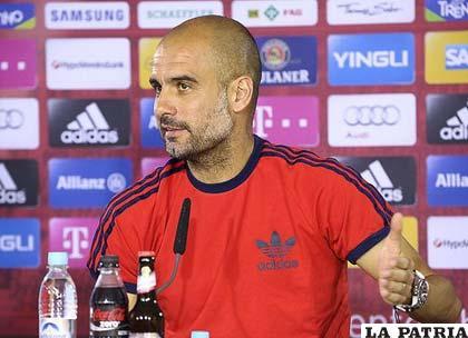 Pep Guardiola, entrenador de Bayern Múnich