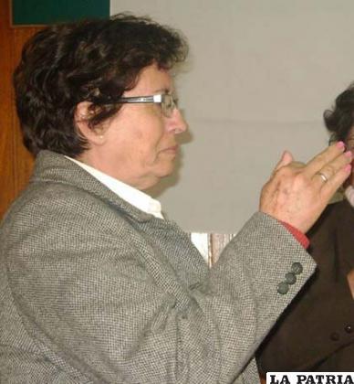 Nueva presidenta del Conalij, Albina Arandia de Quiroga