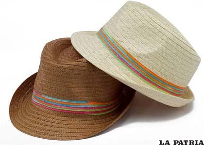 El modelo de los sombreros cambia según lo hace la moda