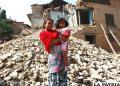 El pasado 25 de abril un se?smo  de 7,8 grados sacudi? Nepal