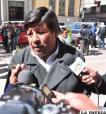 Javier Quiroga, presidente de la Cámara de Transporte Oruro