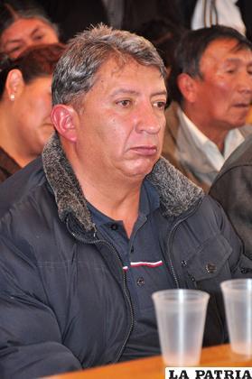 Godofredo Soto, ejecutivo nacional de los trabajadores municipales