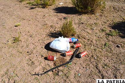 Varias cervezas fueron encontradas en el lugar del hecho