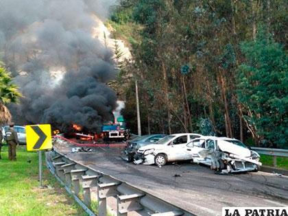 El accidente en Chile fue fatal