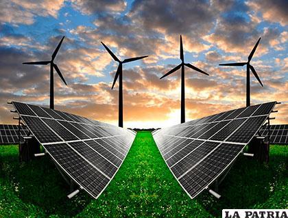La energía alternativa sería equivalente al concepto de energía renovable o energía verde