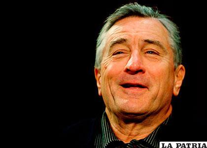 Robert Deniro fue homenajeado por su gran trayectoria profesional y su generosidad /unionradio.net