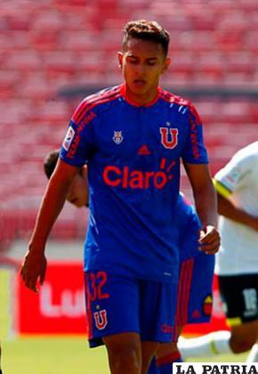 Bruno Miranda juega en la U de Chile