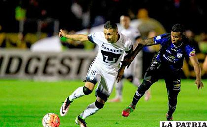 La acción del partido que se jugó en Quito /terra.com