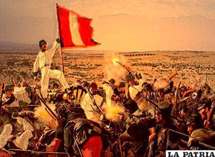 La batalla del Alto de la Alianza del 26 de Mayo de 1880
