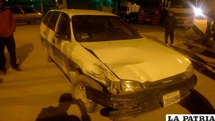 El motorizado fue colisionado cuando ingresaba a la avenida Circunvalación