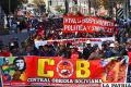 COB celebró con una marcha el Día del Trabajador /APG