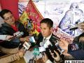 El presidente de la Brigada Parlamentaria, Rubén Gutiérrez informó sobre el proceso de elección de autoridades judiciales