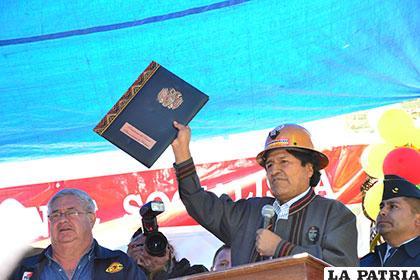 Según Evo Morales, las normas promulgadas no afectan al empresariado privado