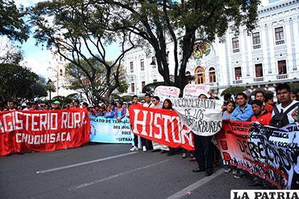 La situación es crítica en Chuquisaca por la defensa de Incahuasi /APG