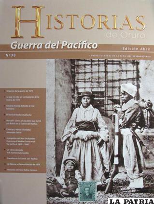 Portada de Historias de Oruro Nº 38 /Historias de Oruro