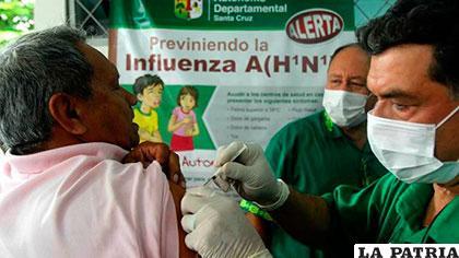 Se trata de contrarrestar la influenza con vacunas /erbol.com.bo
