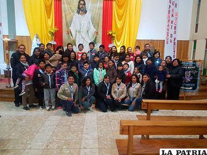 Los scouts recordaron a Fidel Luna, su fundador