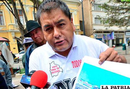 El líder del PP, Ever Moya, pide al MAS investigar corrupción en sus autoridades /Archivo