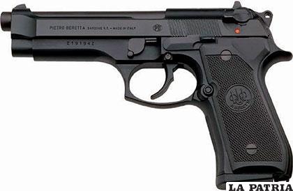 Un arma similar fue robada de la Policía Antidroga