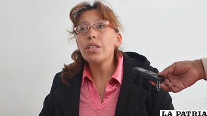 La juez Cinthia Delgadillo /El Diario