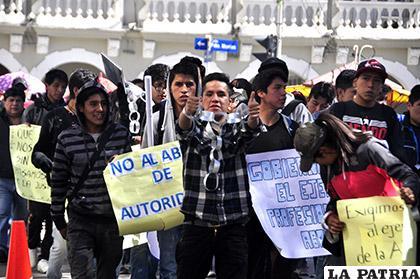 Juventud orureña podrá plasmar sus sugerencias para un mejor país /Archivo