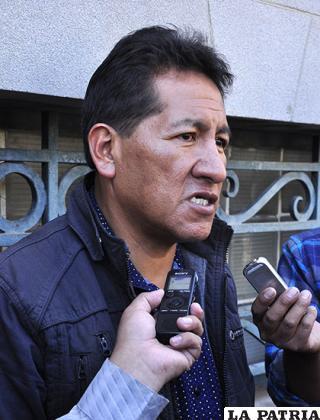 Miguel Condori asevera que la determinación de la Junta Nacional es inapelable /Archivo