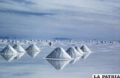 La riqueza de litio se concentra en los salares del cono suramericano