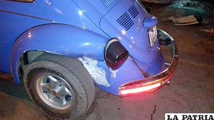 La reparación del vehículo será costosa