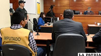 El sujeto frente al juzgado /Cooperativa