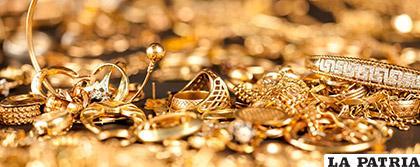 La joyería de oro, tiene buen mercado en EE.UU.