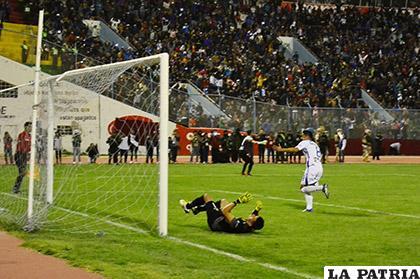 Ramallo anotó el penal que le tocó rematar para la clasificación