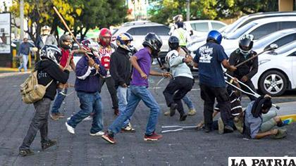 Nicaragua reprimió con violencia a través de grupos de choque las manifestaciones que ocurrieron en más de un mes