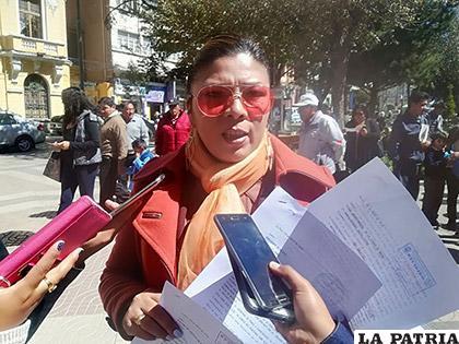 La abogada Gina Morales denunció irregularidades cometidas por algunos fiscales